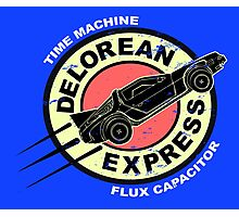 Delorean Express Photographic Print