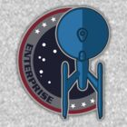 Vintage Enterprise Patch 1701A by justinglen75