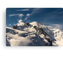 Mt. Blanc Canvas Print