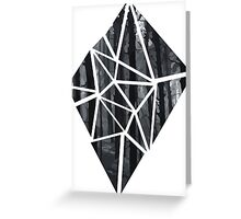 Black Diamond Idea Greeting Card