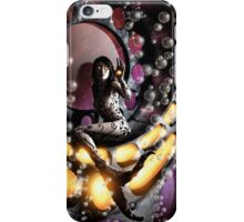 Robot Mermaid Painting 001 iPhone Case/Skin