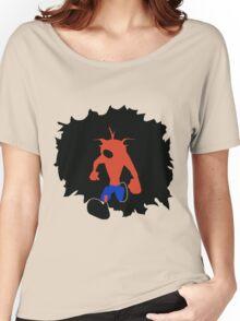 Crash-ing Through (Crash Bandicoot) Women's Relaxed Fit T-Shirt