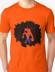 Crash-ing Through (Crash Bandicoot) T-Shirt