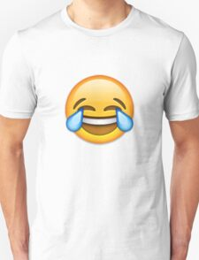 Emoji Crying With Laughter Face T-Shirt