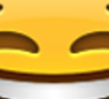 Emoji Crying With Laughter Face Sticker