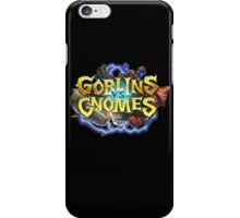 Goblins Vs Gnomes Hearthstone iPhone Case/Skin