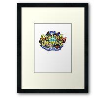 Goblins Vs Gnomes Hearthstone Framed Print