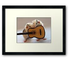 Singing together a little song :) Framed Print