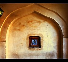 Window with light by BaciuC