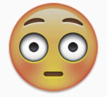 Emoji Flushed Face T-Shirt