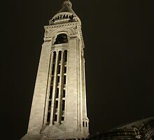 Sacre Coeur Tower by Andy Harris