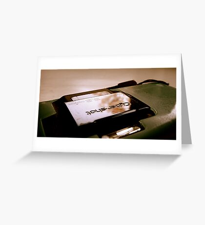 Cybershot 2 Greeting Card