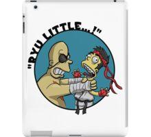 """""""RYU LITTLE..."""" iPad Case/Skin"""