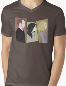 The Detectives and the Criminal Mens V-Neck T-Shirt