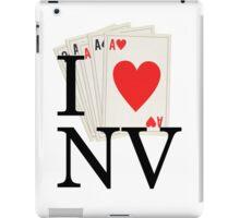 I Heart NV - I Love Nevada and Las Vegas! iPad Case/Skin