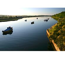 Axe estuary late summer Photographic Print