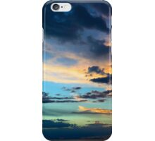 Evening Sky with Clouds Over Lake Titicaca in Bolivia iPhone Case/Skin