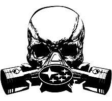 Subaru Skull Mask by GeigerHansen