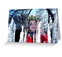 Forest Princess Greeting Card