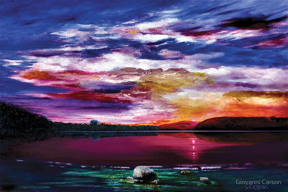 Loch Lomond by Giovanni Carson