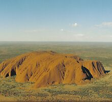 Ayers Rock by Cecilmax