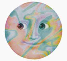 Multi-Colored Pastel Moon Emoji by yungselfiegod
