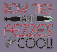 Bowties/Fezzes Are Cool! Kids Clothes