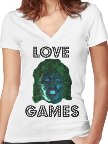 Old Gregg Mighty Boosh Women's Fitted V-Neck T-Shirt