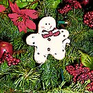 Comic Abstract Gingerbread Man by steelwidow