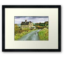 Water House near Darwen, Lancashire Framed Print