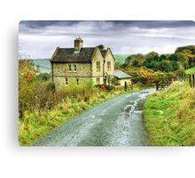 Water House near Darwen, Lancashire Canvas Print