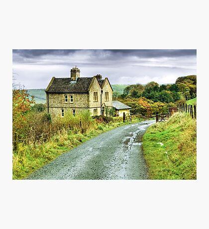 Water House near Darwen, Lancashire Photographic Print