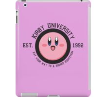 Kirby University  iPad Case/Skin