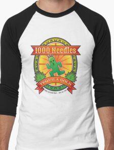 1,000 Needles Tequila Men's Baseball ¾ T-Shirt