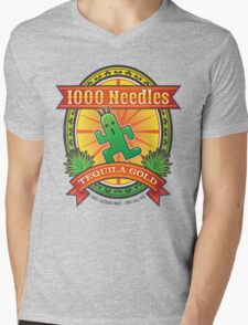 1,000 Needles Tequila Mens V-Neck T-Shirt