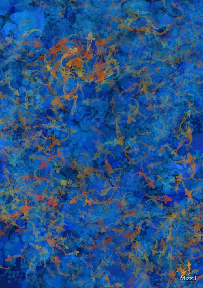 Inspirational Art - 'Swimmingly by MizzJ