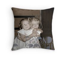 Friends are special Throw Pillow