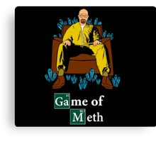 Game of Meth Canvas Print