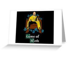 Game of Meth Greeting Card