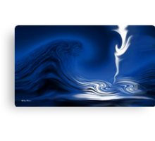 How Deep Is The Ocean-Abstract+Products Design Canvas Print