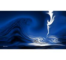 How Deep Is The Ocean-Abstract+Products Design Photographic Print