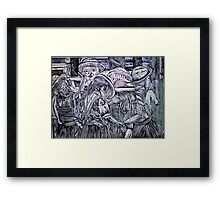 Chelsea Girls - Lino Cut Print Framed Print