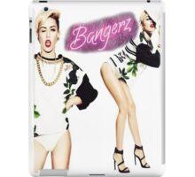 Miley Cyrus Bangerz Poster iPad Case/Skin