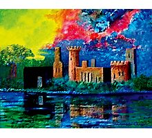 Yea old Castle Ruin Photographic Print