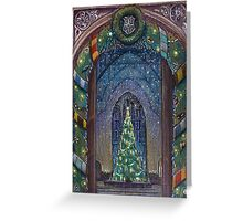 Christmas in Hogwarts Greeting Card