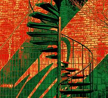 Spiral Staircase Multi-Color(G) by Ralph  Chance