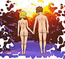 Nude Walk in the Winter by Nude-is-Life