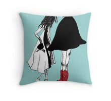 Wicked Thoughs Throw Pillow