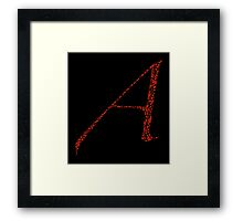 Musical Atheist Framed Print