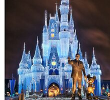 Cinderella Castle Dream Lights by zmayer